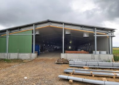 Full farm construction project in Lithuania