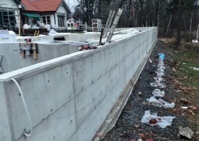 Concreting works and long time project
