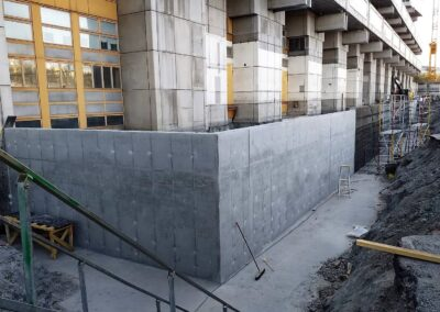 Constructing project in Stockholm 2020