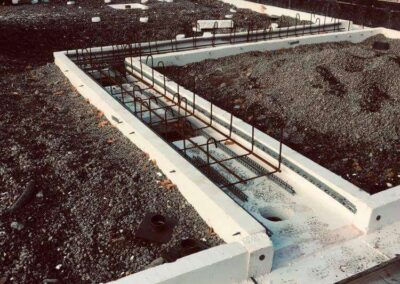 Constructing project and concreting in Sweden